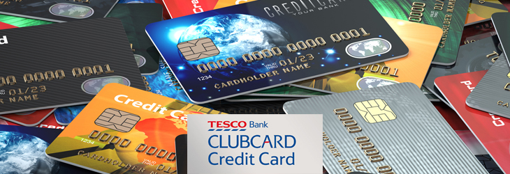 Tesco credit card online